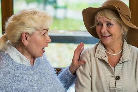 Verbale Kommunikation mit Demenzkranken bewältigen